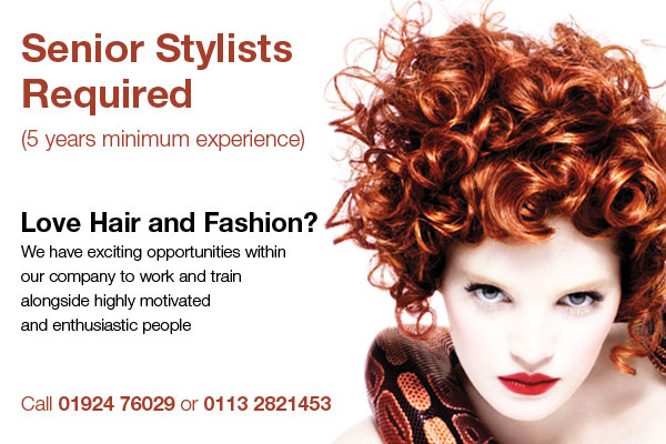 Senior Stylist Required